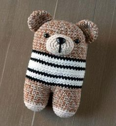 Download this free pattern at Amigurumipatterns.net Donato bear