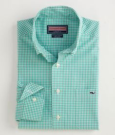 The Vineyard Vines Tucker shirt defines true prep. Don't be spotted on Nantucket without the whale!