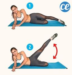 Want to get rid of cellulite? Try these 6 exercise to reduce cellulite problem. beat hips and thighs workouts. Get bigger butt and slim thighs by these 6 exercise. 2 weeks challenge to get rid of cellulite. 2 Week Challenge, Workout Challenge, Cellulite Exercises, Thigh Exercises, Cellulite Workout, Sixpack Workout, Fitness Herausforderungen, Hip Problems, Slim Thighs