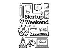 Startup Weekend Columbus Tshirt