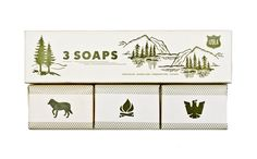 SCOUT SOAP SET. Any Boys Scouts among us? This #packaging is for you. PD