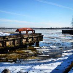 Melting ice and snow in the port of Suomenlinna Helsinki. Helsinki, Anna, Ice, Instagram, Ice Cream