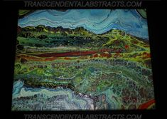 What Do You See, Mountain Range, Airbrush, Acrylics, Original Paintings, Templates, Abstract, Canvas, Wall