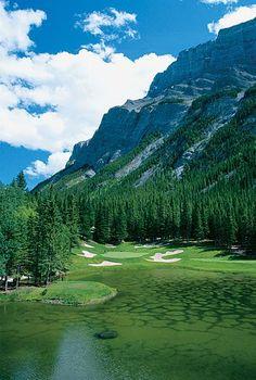 Fairmont Banff Springs Golf Club -- No. 4: Par 3, 192 yards -- Banff, Alberta, Canada