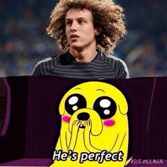 Jajajajaj he's perfect