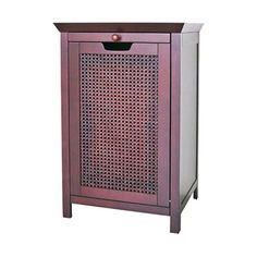 I pinned this Cane Hamper Cabinet from the Mudroom Makeover event at Joss and Main!