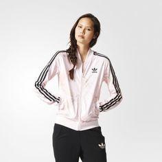cheap for discount fe743 367a7 Yoga Clothes   Jaqueta ROSES TT Multicores adidas   adidas Brasil Adidas  Originals, Jackets For