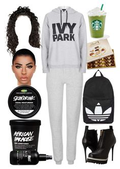 """""""London✈LA: July 26"""" by allison-syko ❤ liked on Polyvore featuring Lindt, Topshop and McQ by Alexander McQueen"""