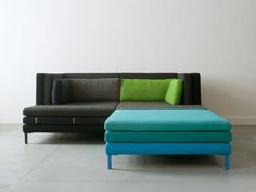 Modular fabric sofa LAYER by Branca-Lisboa | design Marco Sousa Santos