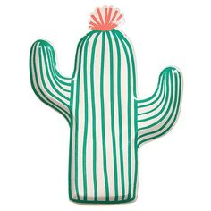 Cactus Plates  Great for a Cactus Party, Summer Birthday, a Cookout, a Fiesta, or a Teenager Birthday Party
