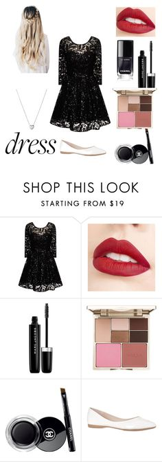 """Party"" by yyyyyx ❤ liked on Polyvore featuring Chi Chi, Jouer, Marc Jacobs, Stila, Chanel and Links of London"