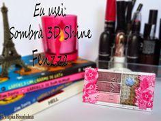 Terapia Feminina: Eu usei: Paleta de sombra 3D-Shine Five Colors Fen...