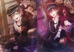 """fyeahdialovers: """" Sakamaki, Past Meets Present [From Rejet's 5th Anniversary Project] """""""