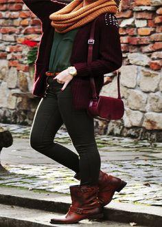 Street Style Women Winter Fashion Trends 2013