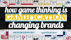 how-game-thinking-is-changing-brands by Alex Drozdovsky via Slideshare Game Mechanics, Great Presentations, Keynote, Digital Marketing, Fails, Psychology, Infographic, Wisdom, Social Media