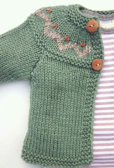 Cute baby cardigan baby cardigan with yoke etsy shop., I wish to have this cCute baby cardigan, Modry pre chlapca by bol zlatý, Cute baby cimage of hand knitted unisex baby cardigan wool amp silk orange - PIPicStatsRound yoke in garter with braided Knitting For Kids, Baby Knitting Patterns, Baby Patterns, Free Knitting, Knitting Projects, Knitting Needles, Crochet Projects, Pull Bebe, Knit Baby Sweaters
