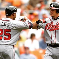 (Andruw) Jones & (Chipper) Jones #TBT