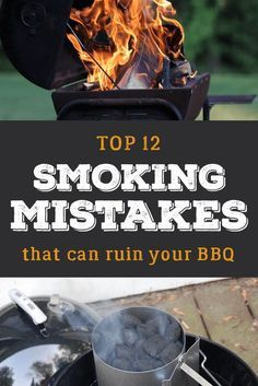 Top barbecue mistakes beginners make. - Top barbecue mistakes beginners make. Charcoal Smoker, Best Charcoal Grill, Grilling Tips, Grilling Recipes, Bbq Tips, Traeger Recipes, Weber Bbq Recipes, Barbacoa, Rauch Grill