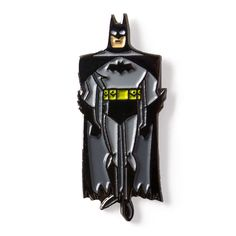 Animated BATMAN Comics Enamel Lapel Pin 8.95$ Perfect Accessory for Jackets, Hats, and Bags!
