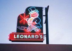 Leonard's Barbecue..Mendenhall