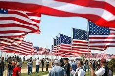 More than 500 veterans who escorted the unclaimed remains of seven Iowa veterans to their final resting at Iowa Veterans Cemetery