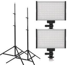 Promotie Set de 2 Lampi LED Tolifo PT-15B Bicolor cu stative – 26% Pret Redus Led, Lighting, Home Decor, Decoration Home, Room Decor, Lights, Home Interior Design, Lightning, Home Decoration
