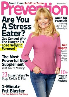 Prevention magazine gives you healthy solutions you can really live with. Every issue delivers the latest news and trends on health, food and nutrition, family, fitness, and more!