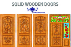 Almighty Doors manufacture and supply the best solid wooden main entry doors and solid wooden front doors with affordable price with good quality. We manufactured solid wooden doors with teak woods. Single Door Design, Wooden Main Door Design, Exterior Doors, Interior And Exterior, Blue Colour Images, Wooden Front Doors, Madurai, Small House Design, Wooden Art