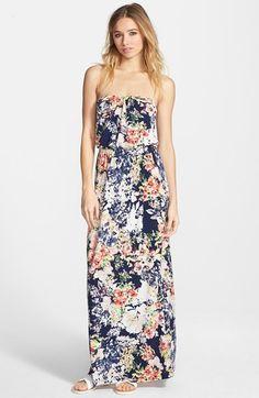 floral maxi dress || summer