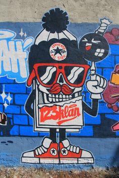 Converse x Juxtapoz: Wall To Wall Montreal feat. 123Klan