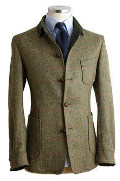 #teba #hombre #style #lopezaragon Suit Fashion, Fashion Outfits, Wedding Dress Men, Safari Jacket, Harris Tweed, Sharp Dressed Man, Tweed Jacket, Gentleman Style, Mens Clothing Styles