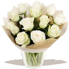 A Dozen Classic White Roses A classic dozen white Roses, selected and arranged to order by our florists experts. A beautiful fresh bouquet that's sure to delight. Gift Bouquet, Gifts Delivered, Flowers Delivered, Wedding Gifts, Wedding Ideas, Classic White, White Roses, Free Delivery, Flower Arrangements