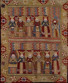 N e e d l e p r i n t: Norwegian Bed Carpets from the 1600s