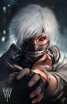 kaneki by wizyakuza on DeviantArt