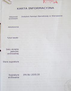 Twoje Zagłębie » Dokumenty IPN