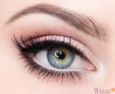 Fresh and natural eye makeup