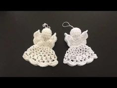 Engel H meehaaktutorial deel 1. Haak deze engel binnen 1 uur! - YouTube Crochet Angel Pattern, Crochet Angels, Crochet Patterns, Crochet Hats, Crafts To Do, Yarn Crafts, Handmade Angels, Christian Crafts, Freeform Crochet