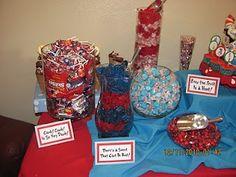 Dr. Seuss candy buffet