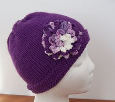 Chemo Hat Womens Sleep Cap soft cotton in by GreenbriarCreations, $16.95