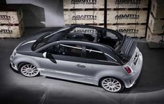 Fiat Abarth 500Cabrio. *** Available at Fiat of Vancouver.