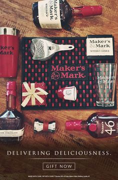 Don't know what list you're on, but Maker's Mark this time of the year is mighty nice. Deliver deliciousness this holiday season by visiting Maker's Mark at minibar.com.