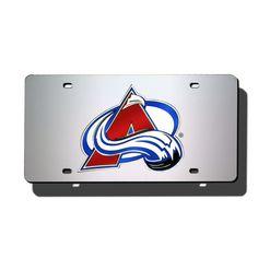 Colorado Avalanche Laser Cut License Plate Cover
