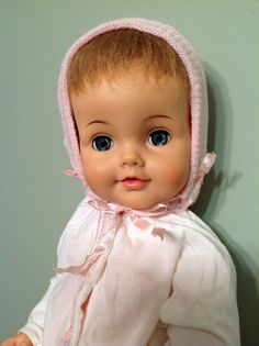 "Vintage Ideal Betsy Wetsy Doll 23"" Really Good Condition"