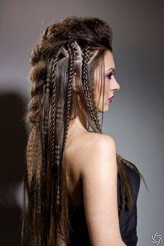 #hot #edgy #braids