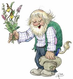 Bilderesultat for norske troll Fairy Land, Fairy Tales, Image Digital, Good Night Greetings, Elves And Fairies, Good Morning Sunshine, People Illustration, Wild Orchid, Art Impressions