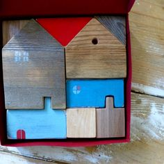 Image of Handmade Wooden Toy Puzzle Toy (small)