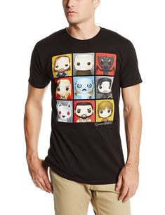 Amazon.com: HBO'S Game of Thrones Men's Funko Character Boxes T-Shirt: Clothing. #gameofthrones #got #hbo #funko