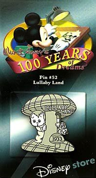 Disney Trading Pins - 100 Years of Dreams - Pin #52 - Lullaby Land Disney http://www.amazon.com/dp/B00TCS71IA/ref=cm_sw_r_pi_dp_COsIvb02SCWAZ