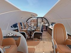 This Private Jet Has the Equivalent of a Moonroof #privatejet