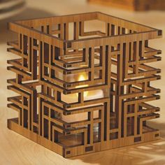 Frank Lloyd Wright® Votive Holders - Alice Millard House